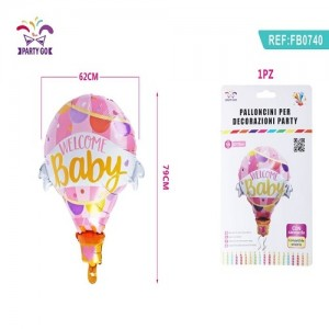 Balon za baby shower 62*79cm
