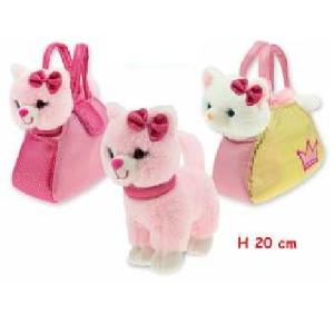 Plišasta torbica+mačko REF:39356