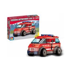 Lego kocke gasilski avto