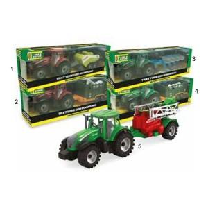 Traktor s prikolico