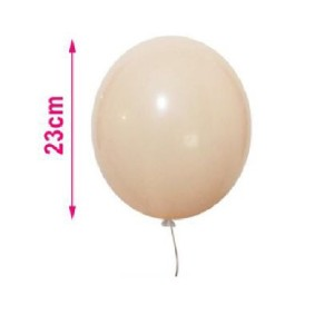 Baloni pastelno oranžni 23 cm  8/1