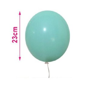 Baloni pastelno mint  23cm 8/1