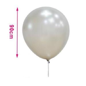Balon srebrn  90 cm