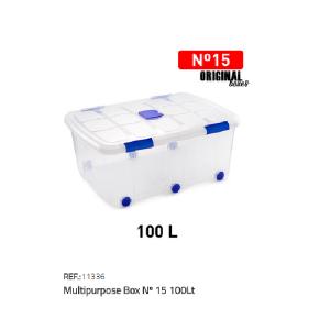 Plastična škatla 100l N°15 REF:11336