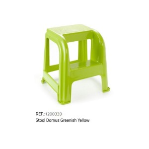 Plastična lestev/stol-zelena