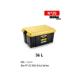 Plastična škatla 36l N°20 REF:11650R1