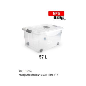 Plastična škatla 57l N°5 RTF:11213G8
