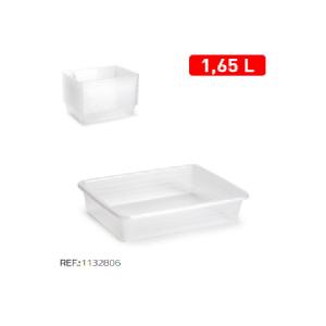Plastični pladenj 1,65l bela REF:1132806