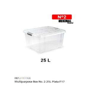 Plastična škatla 25l N°2 REF:11117G8