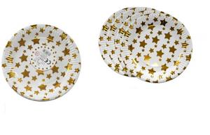 Krožniki zlate zvezdice