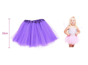 Tu-tu krilo za otroke vijolična