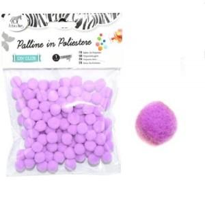 Kroglice vijolične barve