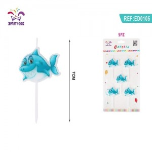 Sveča morski pes 7cm