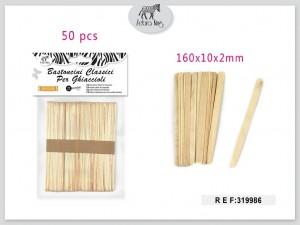 Dekorativne lesene paličice 160×10×2mm