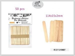 Dekorativne lesene paličice 114×15×2mm