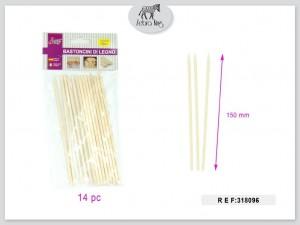 Dekorativne lesene palice 150mm