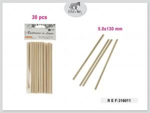 Dekorativne lesene palice 5x130mm