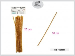 Dekorativne žice (zlata) 30cm