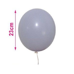 Baloni pastelno vijolični  23cm 8/1