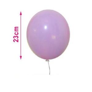 Baloni pastelno svetlo vijolične barve 23cm 8/1