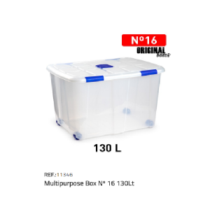 Plastična škatla 130l N°16 REF:11346