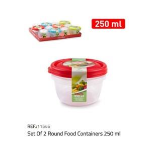 Plastična posoda 2/1 250ml
