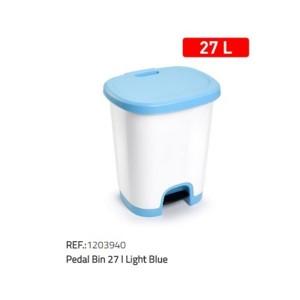 Koš za smeti 27l modra
