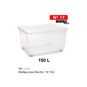 Plastična škatla 150l N°19 REF:12130