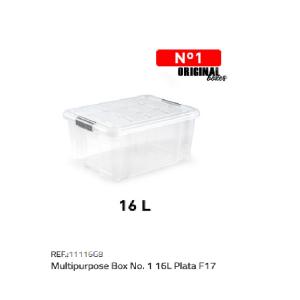 Plastična škatla 16l N°1 REF:11116G8