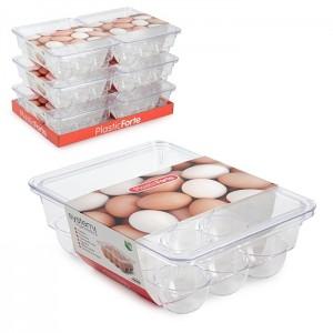Plastična posoda za shranjevanje jajce REF:12713