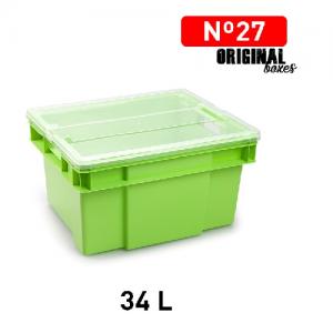 Plastična škatla 34l N°27 REF:1145109