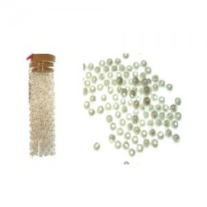 Dekorativne perle bela 3-11