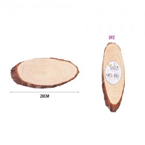 Lesena dekoracija 10-12x20cm