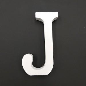 Lesena črka J 11 cm