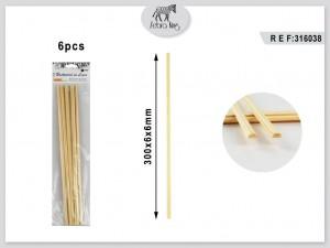 Dekorativne lesene palice