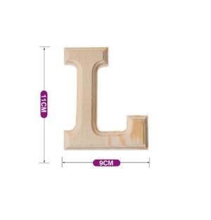 Lesena črka L 11*9 cm