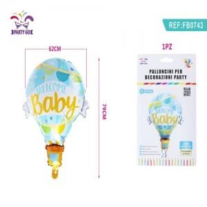 Aluminijasti balon za baby shower 62*79cm