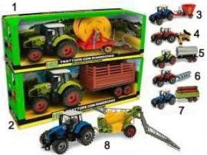 Traktor s priključkom