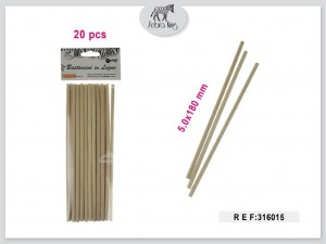 Dekorativne lesene palice 5x180mm