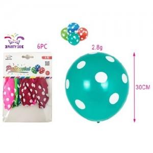 Balon 30cm 6/1