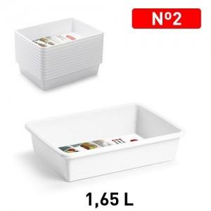 Plastičen pladenj 1,65l REF:11180