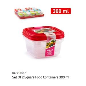Plastična posoda 2/1 300ml