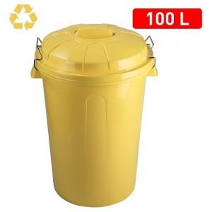 Koš za smeti 100l rumen REF:11252G2