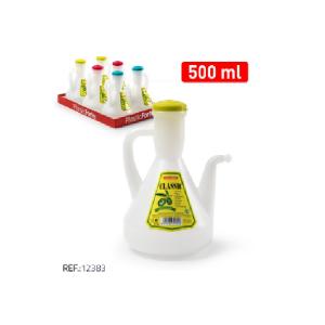 Plastičen vrč za olje 500ml REF:12383