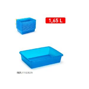 Plastični pladenj 1,65l modra REF:1132829