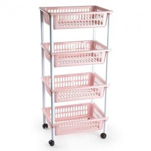 Košara 4/1 svetlo roza REF:11595A6
