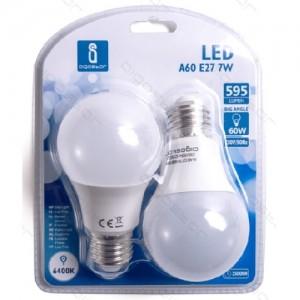 Led žarnica (bela) E27 7W