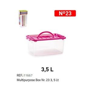 Kovček za shranjevanje N°23 3,5l REF:11667