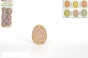 Okrasna jajca 7cm (6/1)