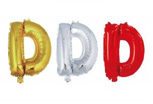 Balon črka D